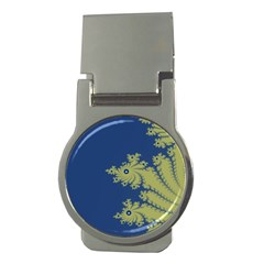 Blue and Green Design Money Clips (Round)
