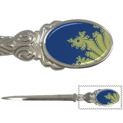 Blue and Green Design Letter Openers