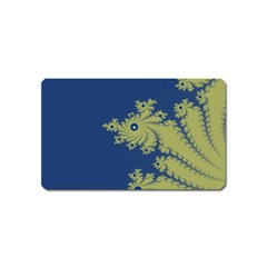 Blue And Green Design Magnet (name Card)