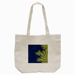 Blue And Green Design Tote Bag (cream)