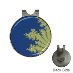 Blue and Green Design Hat Clips with Golf Markers