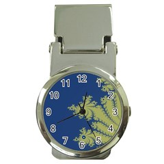 Blue and Green Design Money Clip Watches
