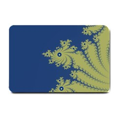Blue and Green Design Small Doormat