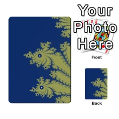 Blue and Green Design Multi-purpose Cards (Rectangle)