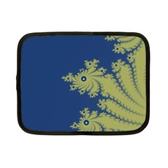 Blue and Green Design Netbook Case (Small)