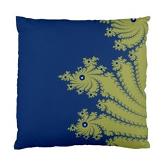 Blue And Green Design Standard Cushion Cases (two Sides)