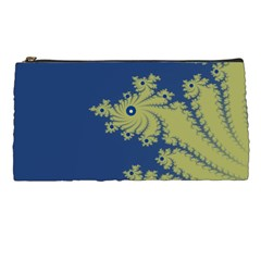 Blue and Green Design Pencil Cases