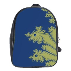 Blue And Green Design School Bags(large)