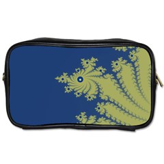 Blue And Green Design Toiletries Bags