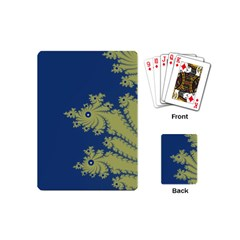 Blue and Green Design Playing Cards (Mini)