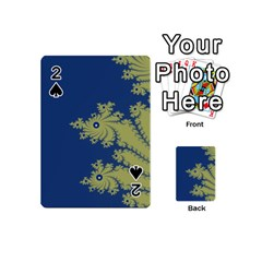 Blue and Green Design Playing Cards 54 (Mini)