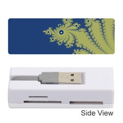 Blue and Green Design Memory Card Reader (Stick)