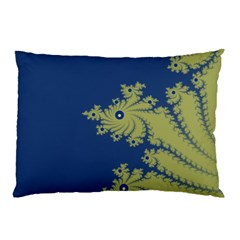 Blue and Green Design Pillow Cases (Two Sides)