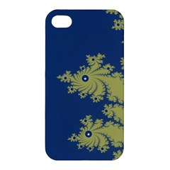 Blue And Green Design Apple Iphone 4/4s Hardshell Case