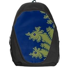 Blue And Green Design Backpack Bag