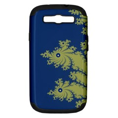 Blue and Green Design Samsung Galaxy S III Hardshell Case (PC+Silicone)
