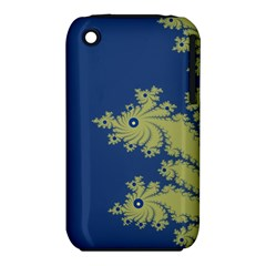 Blue and Green Design Apple iPhone 3G/3GS Hardshell Case (PC+Silicone)