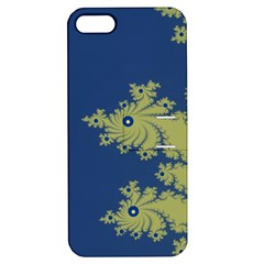 Blue And Green Design Apple Iphone 5 Hardshell Case With Stand