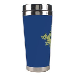Blue And Green Design Stainless Steel Travel Tumblers