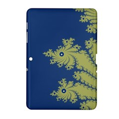 Blue And Green Design Samsung Galaxy Tab 2 (10 1 ) P5100 Hardshell Case
