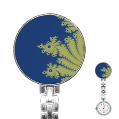 Blue And Green Design Stainless Steel Nurses Watches