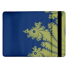 Blue and Green Design Samsung Galaxy Tab Pro 12.2  Flip Case