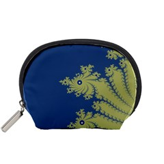 Blue and Green Design Accessory Pouches (Small)