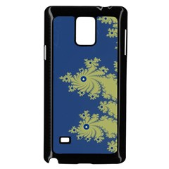 Blue and Green Design Samsung Galaxy Note 4 Case (Black)