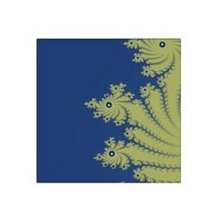 Blue And Green Design Satin Bandana Scarf