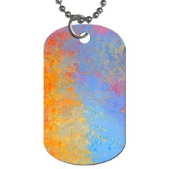 Hot And Cold Dog Tag (two Sides)