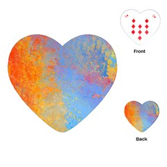 Hot And Cold Playing Cards (heart)