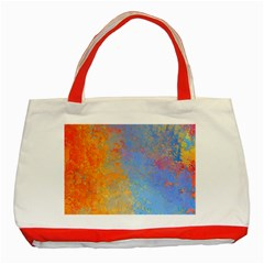 Hot And Cold Classic Tote Bag (red)