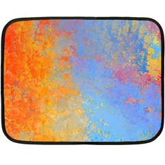 Hot and Cold Double Sided Fleece Blanket (Mini)