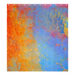 Hot And Cold Shower Curtain 66  X 72  (large)