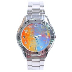 Hot and Cold Stainless Steel Men s Watch