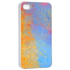 Hot and Cold Apple iPhone 4/4s Seamless Case (White)