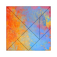 Hot and Cold Acrylic Tangram Puzzle (6  x 6 )