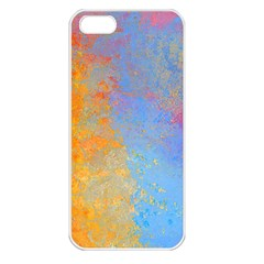 Hot and Cold Apple iPhone 5 Seamless Case (White)