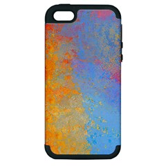 Hot and Cold Apple iPhone 5 Hardshell Case (PC+Silicone)