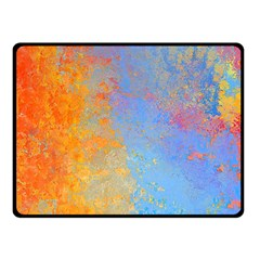 Hot And Cold Double Sided Fleece Blanket (small)