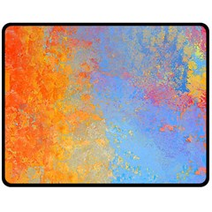 Hot and Cold Double Sided Fleece Blanket (Medium)