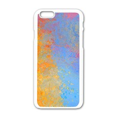 Hot and Cold Apple iPhone 6 White Enamel Case