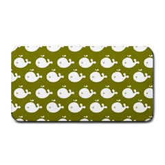 Cute Whale Illustration Pattern Medium Bar Mats