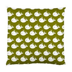 Cute Whale Illustration Pattern Standard Cushion Cases (two Sides)