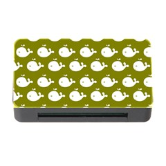 Cute Whale Illustration Pattern Memory Card Reader with CF