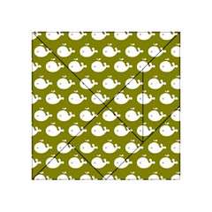 Cute Whale Illustration Pattern Acrylic Tangram Puzzle (4  x 4 )