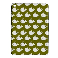 Cute Whale Illustration Pattern iPad Air 2 Hardshell Cases