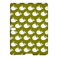 Cute Whale Illustration Pattern Samsung Galaxy Tab S (10 5 ) Hardshell Case