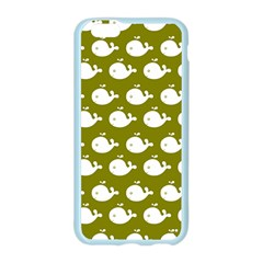 Cute Whale Illustration Pattern Apple Seamless iPhone 6 Case (Color)