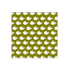 Cute Whale Illustration Pattern Satin Bandana Scarf